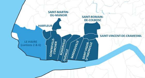 Le Havre en zonage AFR