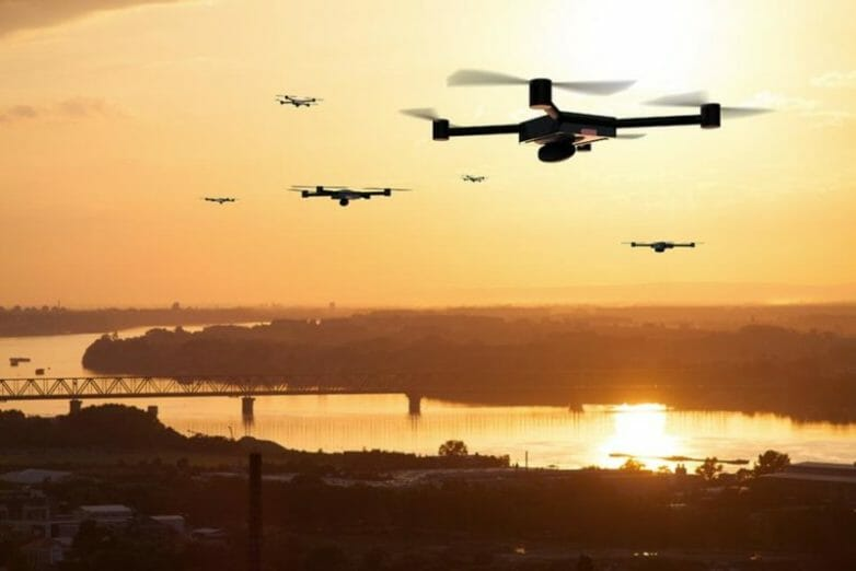 Drone illustrations