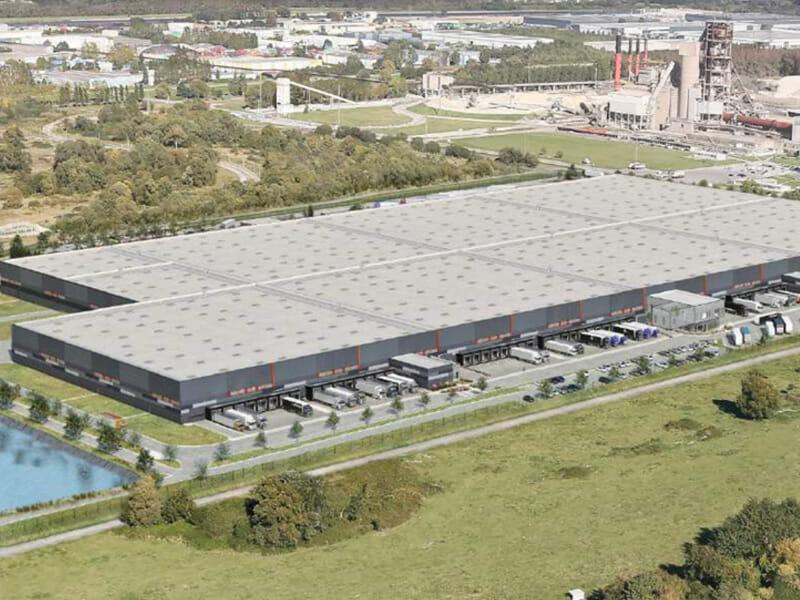 HAVLOG : le grand entrepôt logistique en blanc de France au Havre