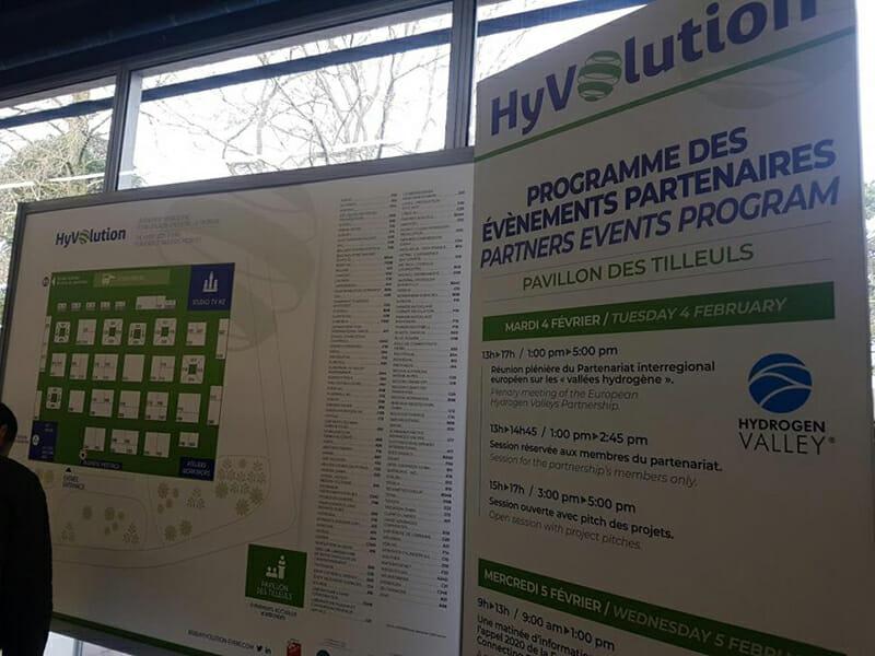 Le Havre Seine Développement à Hyvolution 2020, salon leader sur l'hydrogène