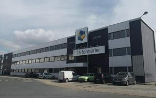 Hotel d'entreprises La Fonderie au Havre - location de bureaux
