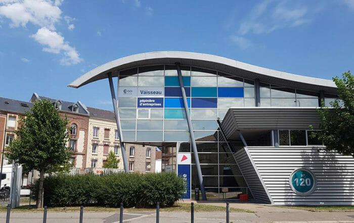 Pépinière d'entreprises Le Vaisseau - bureaux et ateliers à louer au Havre