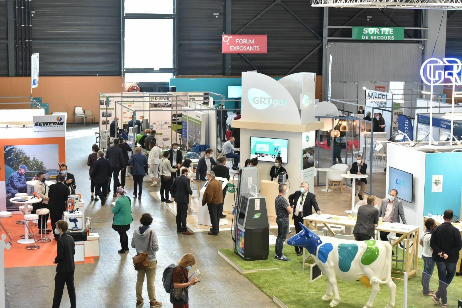 Salon Expobiogaz à Metz, salon des gaz renouvelables